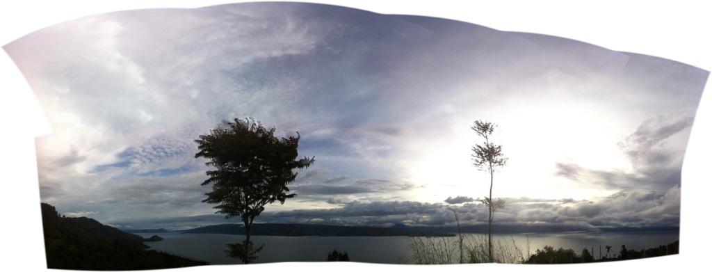 A view of Lake Toba