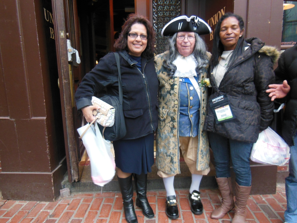 Griselda, Benjamin Franklin and Maria Concepcion in Boston