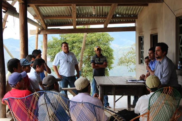 Smallholder coffee farmers in Peru discuss future use of Fair Trade premium