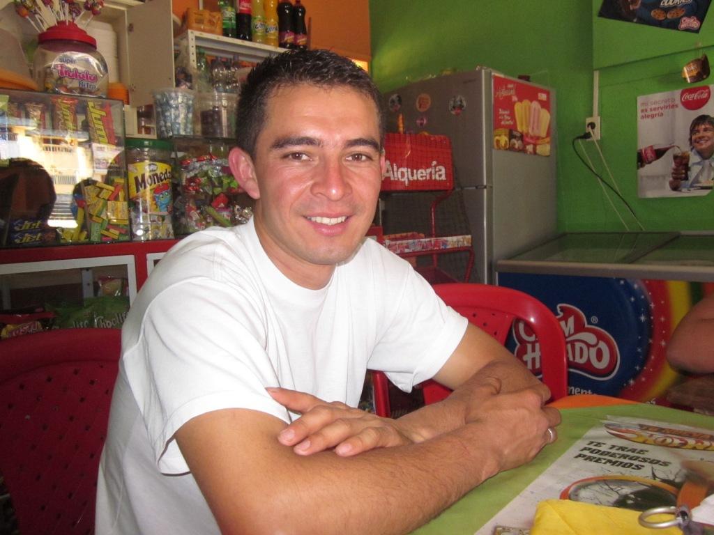 Fabian Andres, productor Comercio Justo de Narino, Colombia