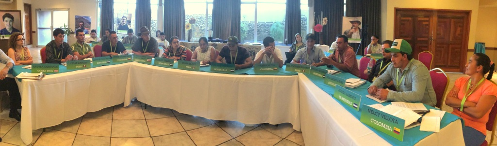 Farmers from Costa Rica, Colombia, Honduras and Peru meet to provide feedback and recommendations to improve Fair Trade