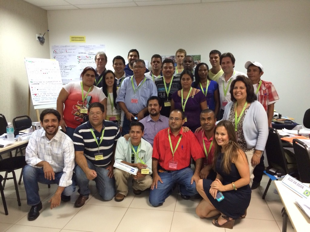 Farmers, Workers and NGO partners meet in Brazil to discuss improvements to and identify impact from our Fair Trade work